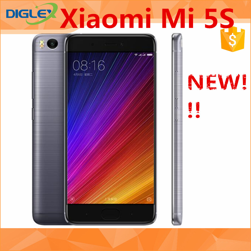 2016 Original New Arrival hot sale Xiaomi 5S online shopping 4GB/128GB 5.15 INCH xiaomi cellphone