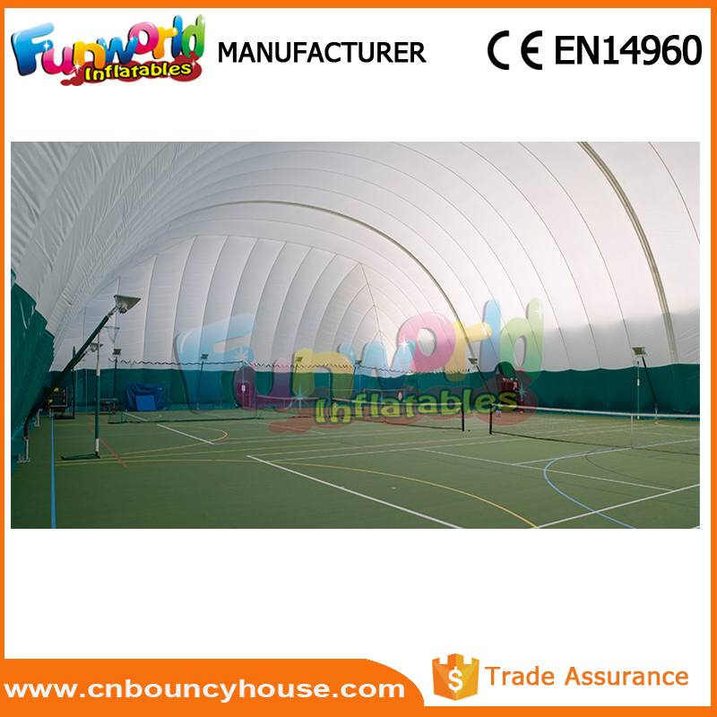 Hot sale Inflatable sports tennis court inflatable tennis dome