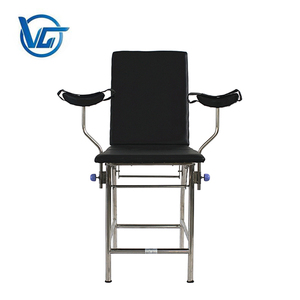 Hospital disconnect-type gynecological examination bed/exam chair