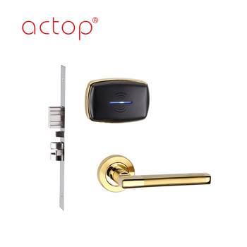 Actop Rfid Hotel Room Electronic Card Key Door Lock Management System