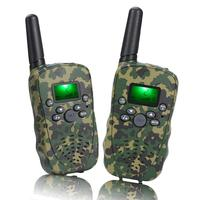 fashion walkie talkie lcd display mini children kids toy walkie talkie