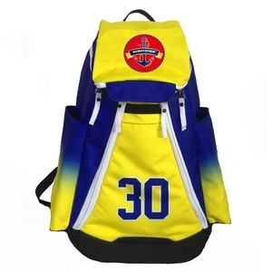 Hot Low MOQ Full Design Multifunction Waterproof Custom backpack Sport Bag Manufacturer,Sublimation Basketball Backpack For Shoe