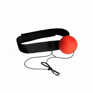 Home training , stress relief , head wear boxing speed training ball