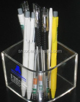 Maganetic acrylic wooden fountain pen display box