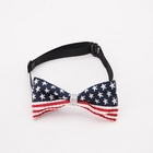 The Stars and the Stripes pet bow tie dog tie bow tie is adjustable