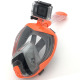 Guangdong Optional Color Go-pro Unfolding New Design Full Face Camera Mount Snorkel 2019 Amazon Best Seller Swim Snorkeling Mask