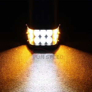 Car Accessories 12w mini cree white led work light bars, waterproof side shooter car led light