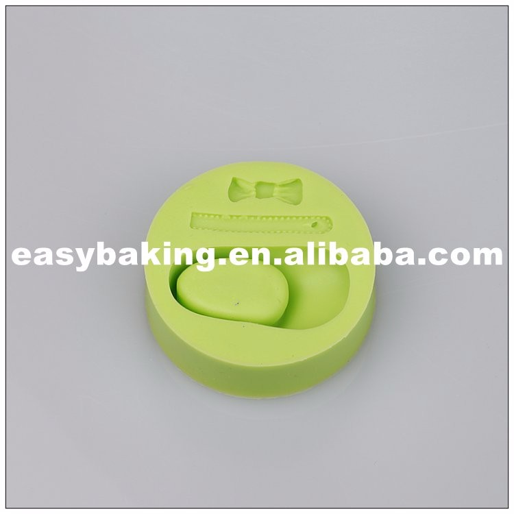 es-8414_Baby Accessories Celebrate Birthday Single Shoe Bow Silicone Mold_6848.jpg