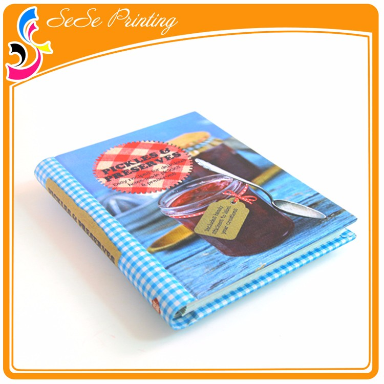 China Custom Cheap Hidden Spiral Bound Journal Book Printing