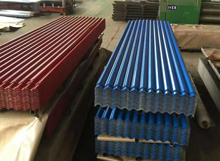 Color Galvalume Metal Corrugated Roofing Sheet Size Cheap Price