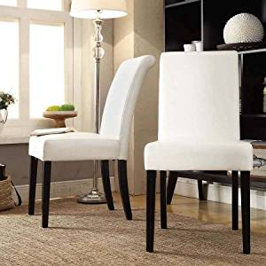 Merveilleux Get Quotations · Lexington Parson Chairs, Set Of 2, White