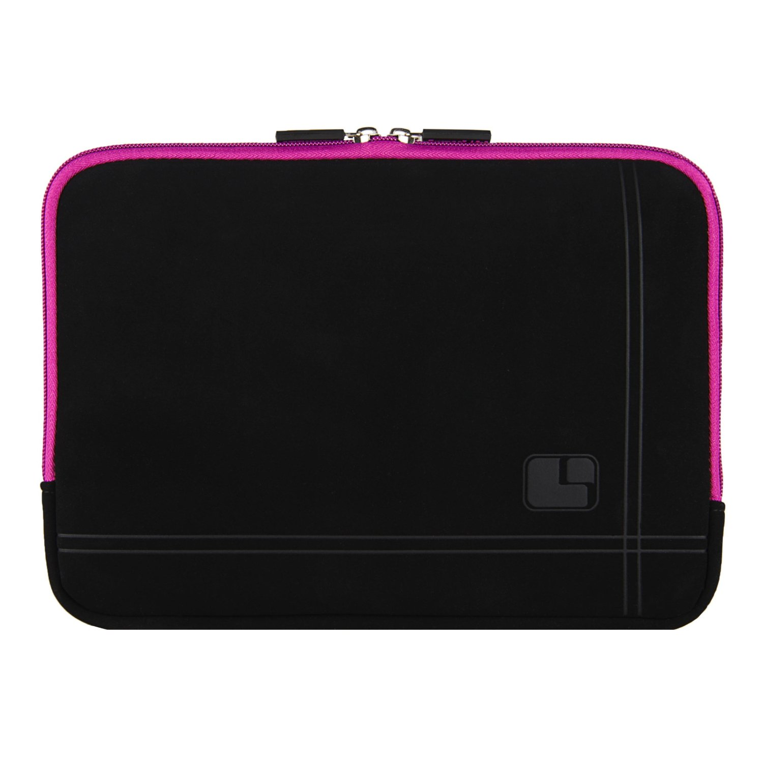 "Sumaclife 15"" Microsuede Hybrid Padded Sleeve Pouch Case [Purple] for HP 14 15.6 Inch Laptop (Envy x2 