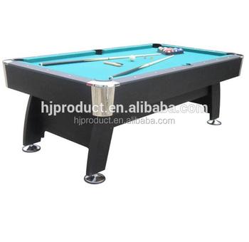 High Quality Billiard Tableft Pool Table With Blue Felt Buy - How high is a pool table