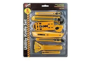 8 Piece Multi-Purpose Utility Knife Set