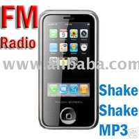 Unlocked Tri Band (Tri-Band) Dual SIM Lh01 GSM Touch Screen PDA FM Cell Phone Mobile Phone W/ Shake Control MP3 MP4 Mini P168