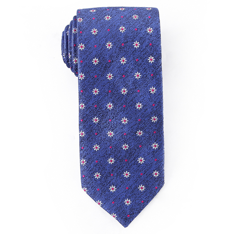 Fashion <strong>Ties</strong> for Men <strong>Blue</strong> Floral Woven Necktie Mens <strong>Blue</strong> <strong>Flower</strong> Microfiber Neck <strong>Tie</strong>