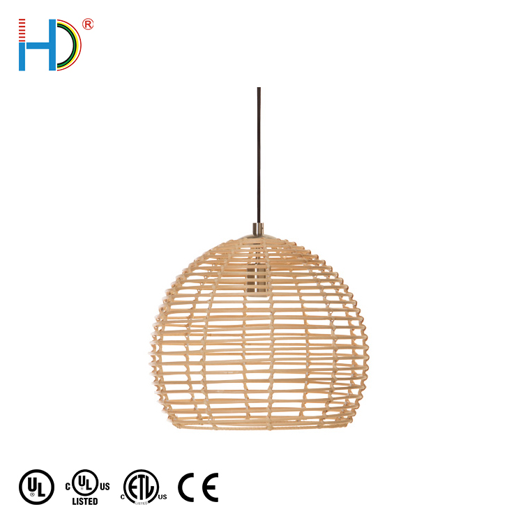 2020 New Arrival Antique Style French Lights Antique Outdoor E26 Wood Finish Ceiling Pendant Light