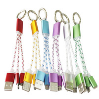 Key Chain Design 2 in 1 Type C USB Cable for iPhone for Android