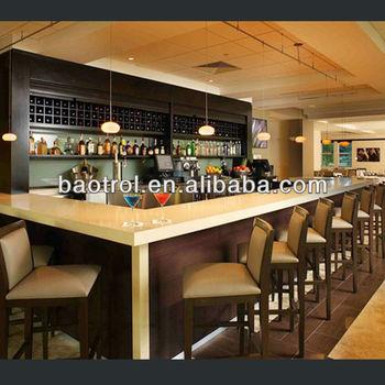 America Classic Style Coffee Bar Counters/Modern Commercial Coffee Bar  Countesr/Fashion Coffee Bar