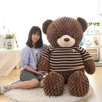 Desain Lucu Kustom Boneka Nama Raksasa Teddy Bear 60 Cm 80 Cm 100 Cm 120 Cm ed6fc7e486