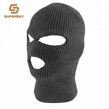 Thermal Ski Mask Outdoor Balaclava Face Mask 3 Hole Balaclava ... 7c91ffb08