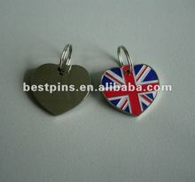 A union jack dog tag <span class=keywords><strong>pingentes</strong></span> para id tag
