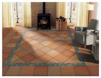 Mm di terracotta argilla mattone pavimento di piastrelle