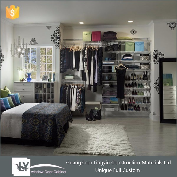 Custom Made Closet Organizers Functional Wardrobe With Simple Design For  Dressing Room