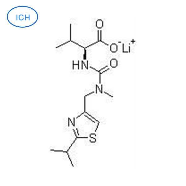 N [ Methyl N N ( ( 2-isopropyl-4-thiazolyl ) Methyl ) aminocarbonyl ] - valine lithium muối [ Ritonavir intermediate ] / CAS : 201409 23 6