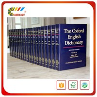 China supplier A-Grade Low Price Bible Paper softback dictionary print service