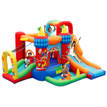 Small Inflatable Slide Clown Jumper Sport Round Castle Games Clearance Commercial Bounce House For Sale Craigslist
