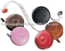 Colored PU covered Leather Measuring Tape