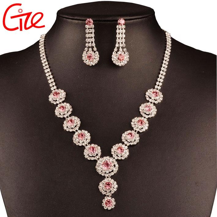 6501fc42f931 China fábrica de oro al por mayor de plata chica boda Tailandia conjunto de  joyas