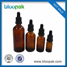 High End Custom Amber Essential Oil Bottles