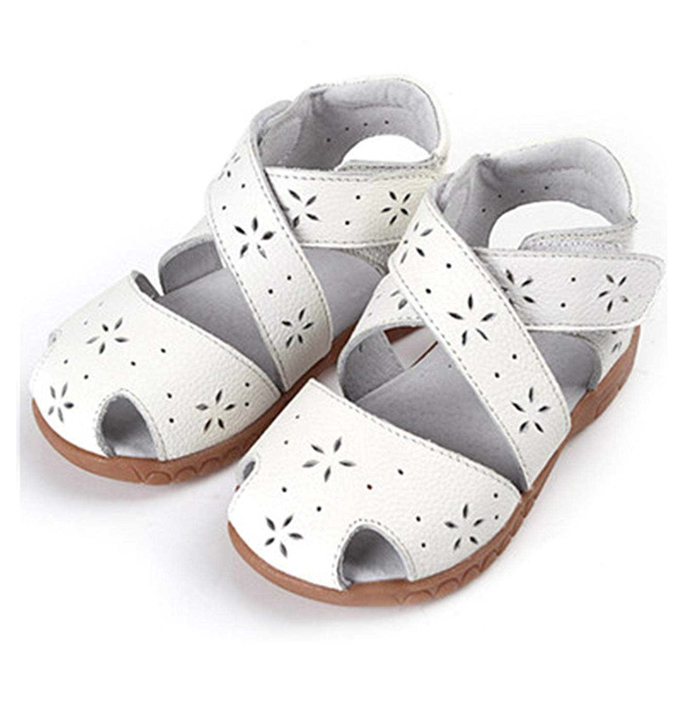 7d79f230a298 Get Quotations · Melissa Wilde Genuine Leather Children Shoes for Girls  Hollow Out Kids Sandals Girls Princess Shoes Girls