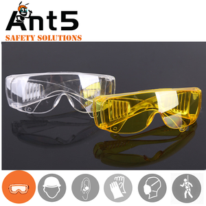 OEM brands smoke safety goggles with factory wholesale price