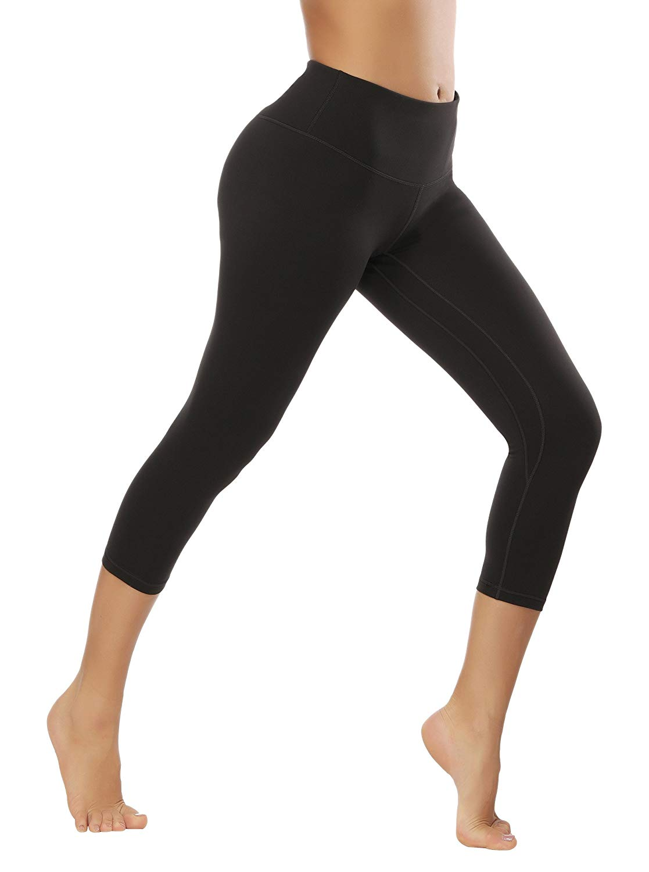 3207d07dccab9 Get Quotations · Fengbay Capri Leggings, Capri Yoga Pants Tummy Control  Workout Running 4 Way Stretch High Waist