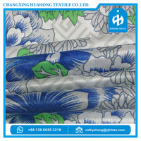 Printed polyester fabric for mattress for home textile buyer from europe