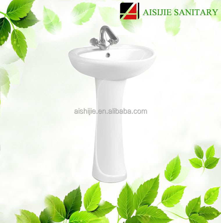 D601 China Factory Ceramic Hand Wash Basin Foot Basin