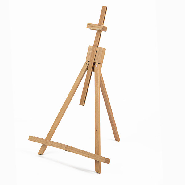 18 to 31-1/2 inch High Adjustable Medium Portable Wood Travel A-Frame Easel