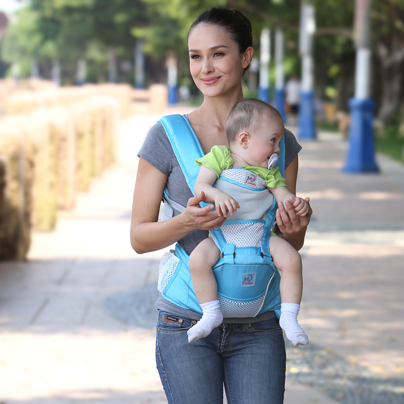 New Style Best Safe Baby Carring Sling, Multifunctional Front And Back Baby Car Seat Backpack