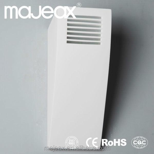 Modern Plug In Wall Lamp Boundary Wall Light Plaster Gypsum E14 ...