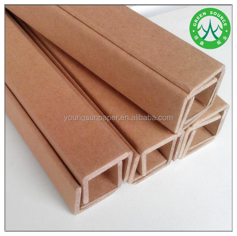 u shaped paper board edge protectors with laminated hard board