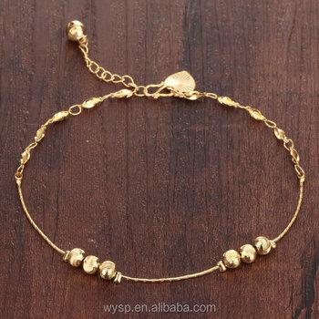 2016 Summer Adjustable Gold Beach Foot Anklet Links Bracelet Buy