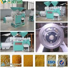 Small scale corn grinding mill with diesel engine