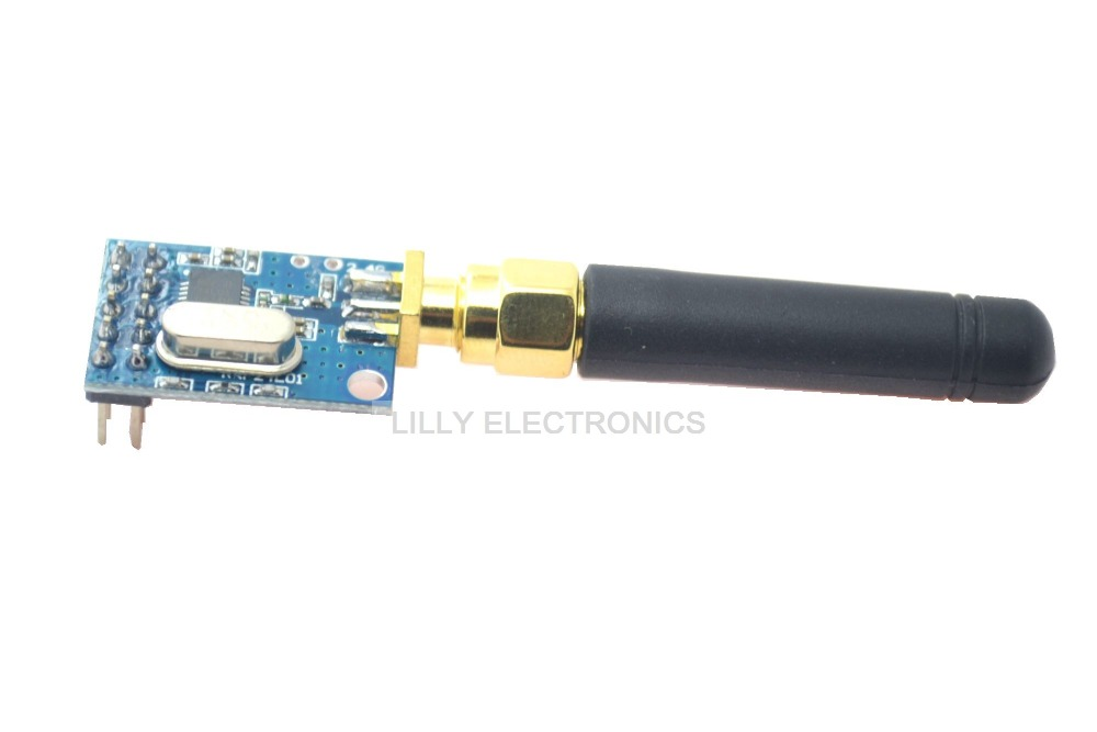 ISM NRF24L01 2.4GHz RF Wireless Communication Module with antenna