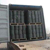 Good news - 12x12 , 12x14 , 13x13 Galvanized / stainless steel/ PVC Coated Barbed Wire coil on sale