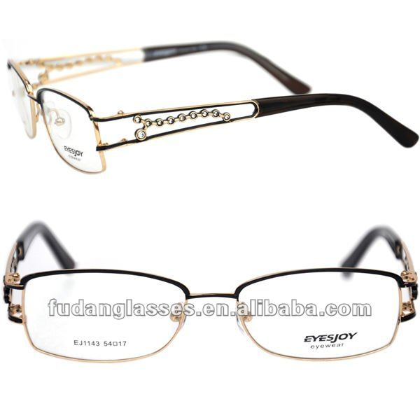 AAAAA quality Cheaper price Full rim Alloy optical frames for women