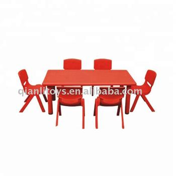 Folding Metal Children Chair Table Sets Preschool Le