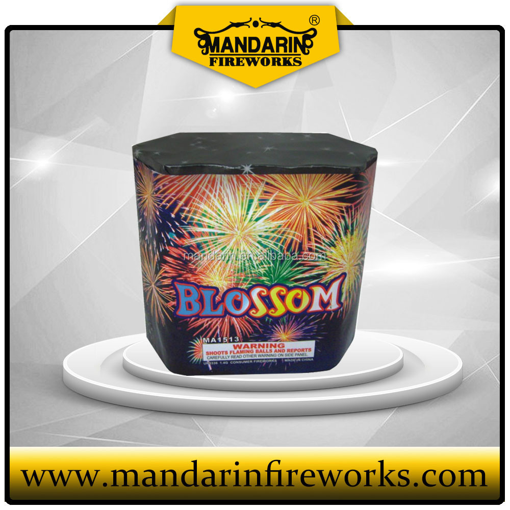 quality of good 1.5 inch 13 shots cake fireworks wholesale Liuyang cheap price cakes